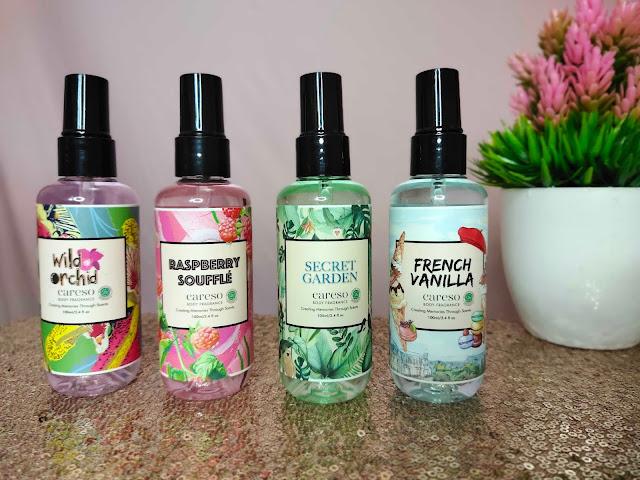 Review Careso Body Fragrance