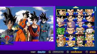 DESCARGA YA NUEVA MOD DBZ TTT V 1 VERSION LATINO CON MENÚ  [FOR ANDROID Y PC PPSSPP]
