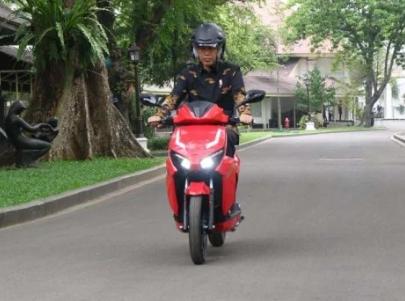 Sempat Diperiksa Polisi Pemenang Lelang Motor Listrik Jokowi Senilai 2,5 M