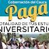 Gobernación del Cauca hace los sueños realidad de jóvenes que quieren ingresar a la educación superior.