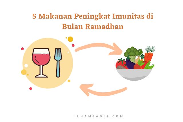 5 Makanan Peningkat Imunitas di Bulan Ramadhan