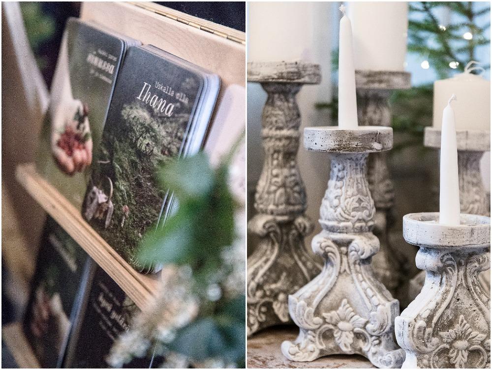Parolan asema, joulumarkkinat, joulu, myyjäiset, markkinat, Visualaddict, Frida S Visuals, valokuvaaja Frida Steiner, kortit, Blåvilla, betonituotteet, kynttiläjalka