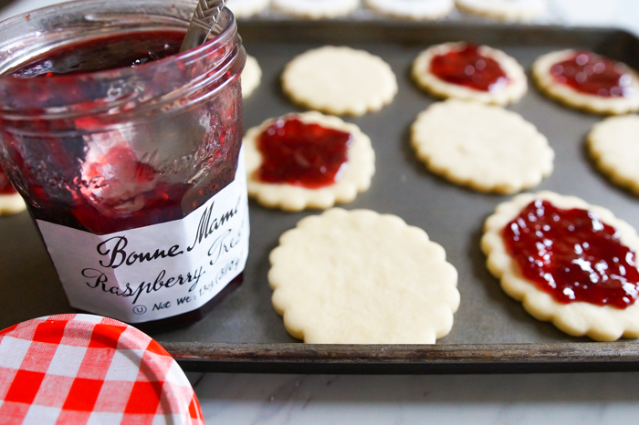 Bonne Maman for Linzer Cookies