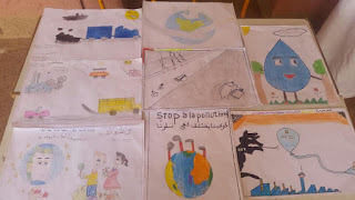 تحت شعار – جميعا من أجل بيئة سليمة - مدرسة الرياض بالحوز تجسد كوب 22 بطريقتها الخاصة
