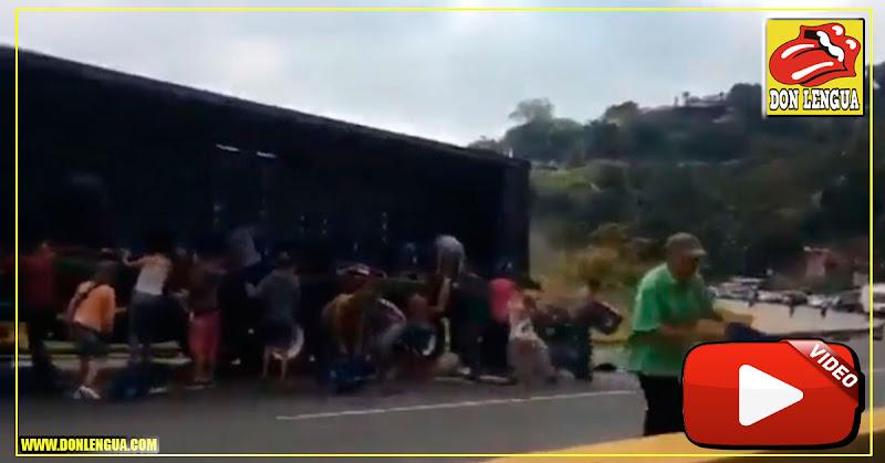 Saquearon camión de cerveza en Tazón este 5 de febrero