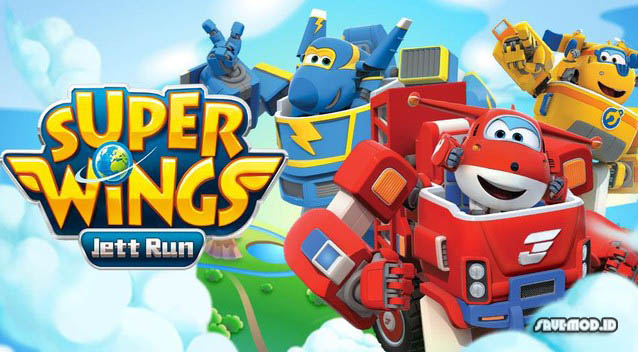 Super Wings Jett Run MOD APK Latest for Android