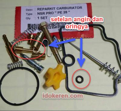 parkit carburator motor