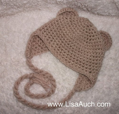 free baby hat crochet pattern with earflaps