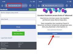 Cara Masuk Facebook Mode Gratis di Semua Kartu