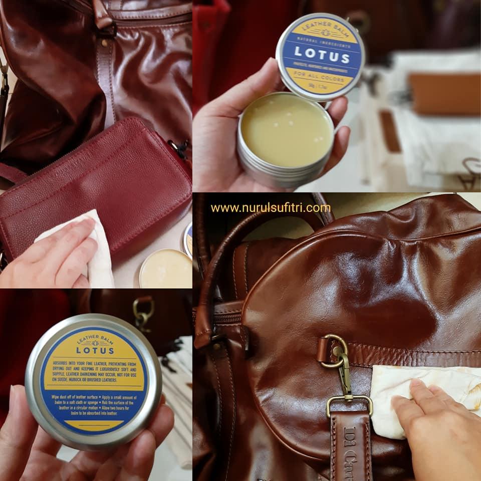 cara merawat dan membersihkan tas kulit agar awet dan tahan lama nurul sufitri travel lifestyle blog