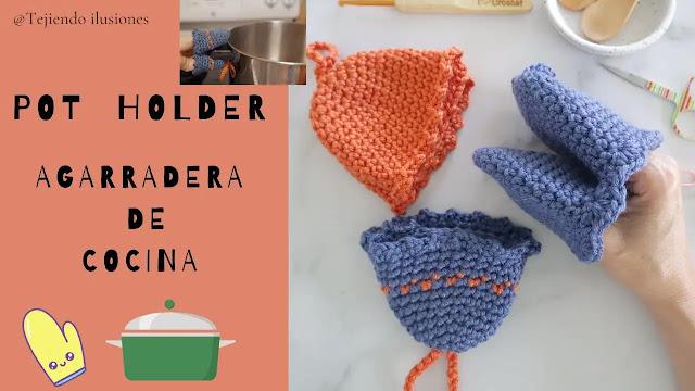 Aprende a Tejer Agarraderas Para Cocina a Crochet