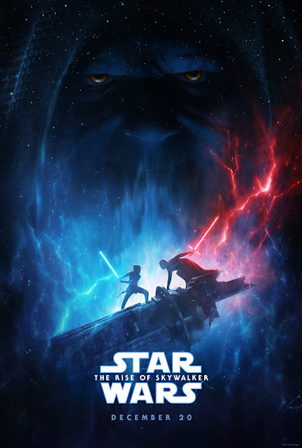 The D23 Expo Exclusive Star Wars The Rise of Skywalker Teaser One Sheet Movie Poster
