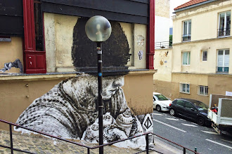 Sunday Street Art : Alaniz - rue de l'Equerre - Paris 19