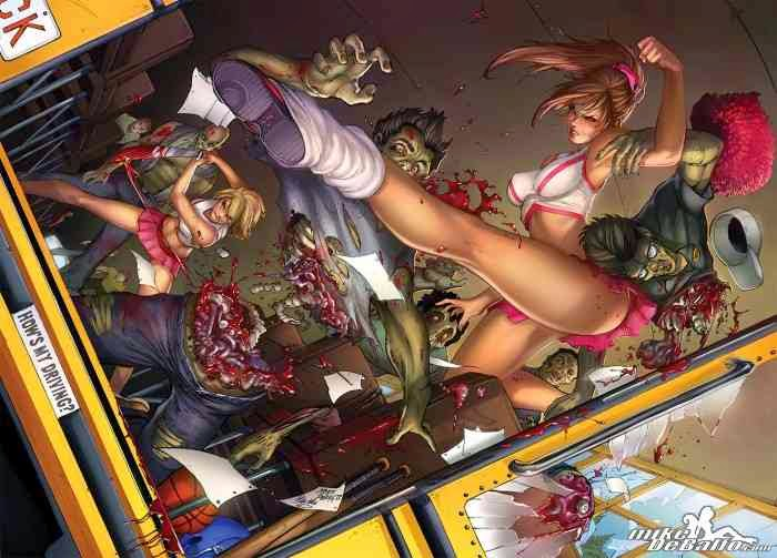 Zombies vs Cheerleaders. Mike DeBalfo