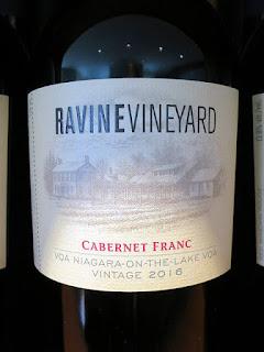 Ravine Cabernet Franc 2016 (90+ pts)