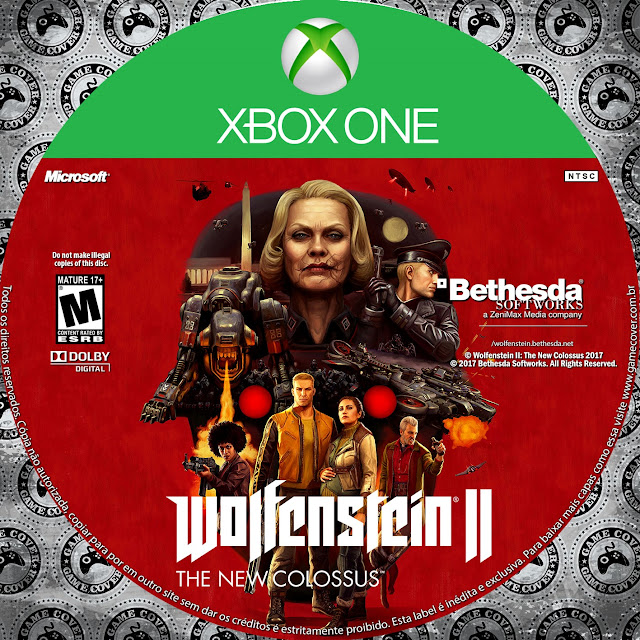 Label Wolfenstein II: The New Colossus Xbox One [Exclusiva]