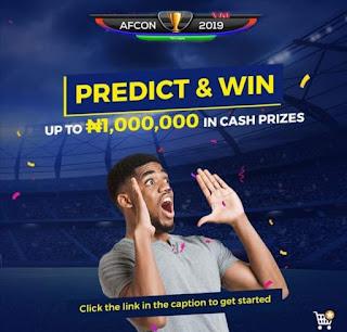 Jumia Predict and Win AFCON 2019