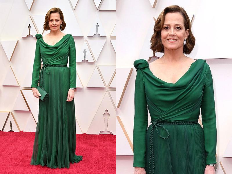 Sigourney Weaver The Oscars 2020