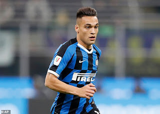 Lautaro Martinez 'to spark a war' between Barcelona and Real Madrid this summer