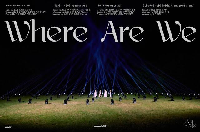 Lista de canciones de WAW, el comeback de MAMAMOO
