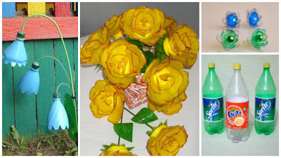 FLORES-BOTELLAS-RECICLADAS