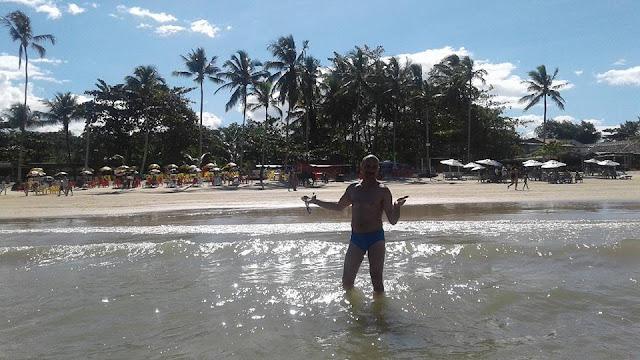 Uma das praias mais famosas de Trancoso