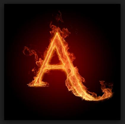 Membuat Efek Api pada Link di Blog