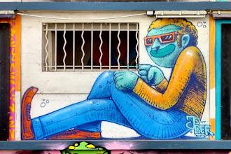 Sunday Street Art : Jober - rue Biot - Paris 17