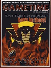 Vernon Vipers 2003-04 Program (Second Edition)