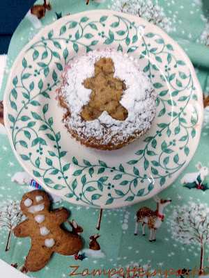Muffin speziati - Muffin gingerbread