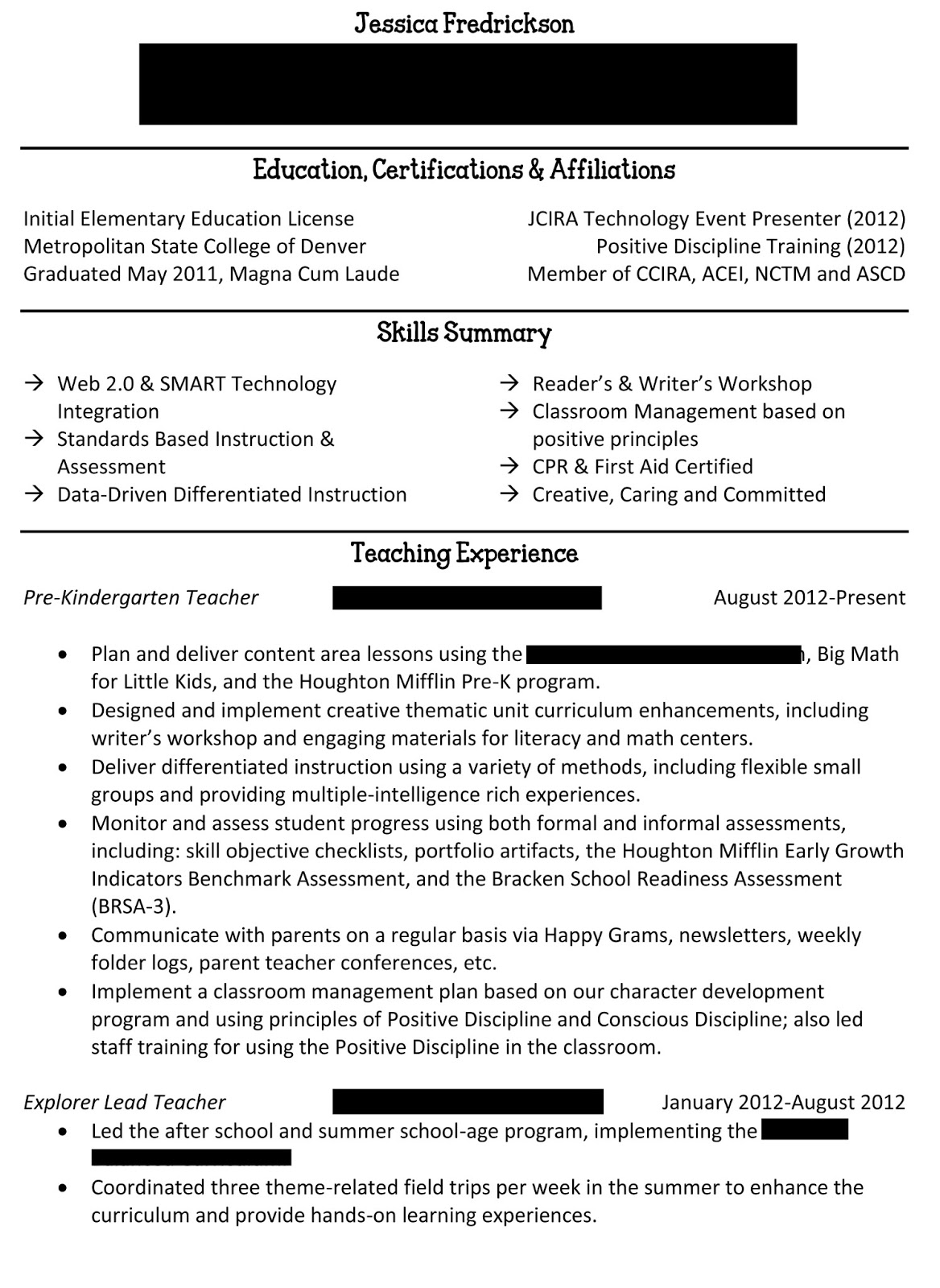 can a resume be 2 pages