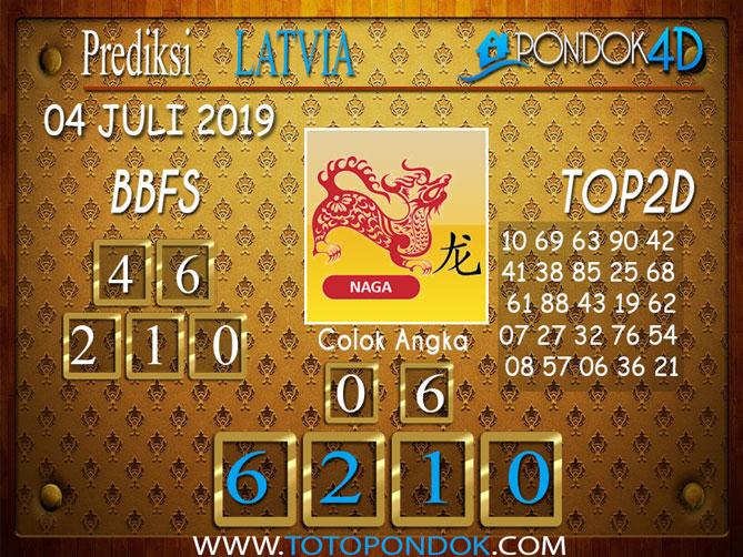Prediksi Togel LATVIA PONDOK4D 04 JULI  2019
