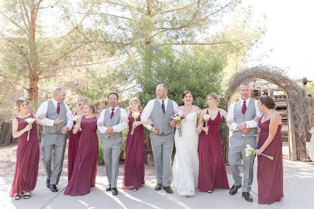 Wedding Party Bridal Party at Shenandoah Mill by Micah Carling Photography
