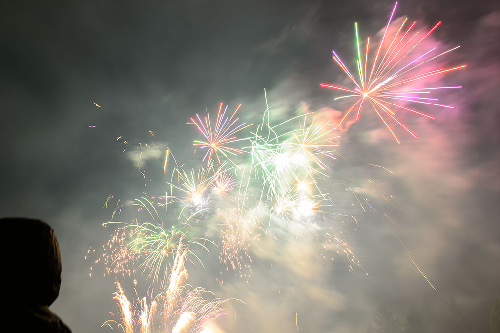 Fireworks at The Butchart Gardens
