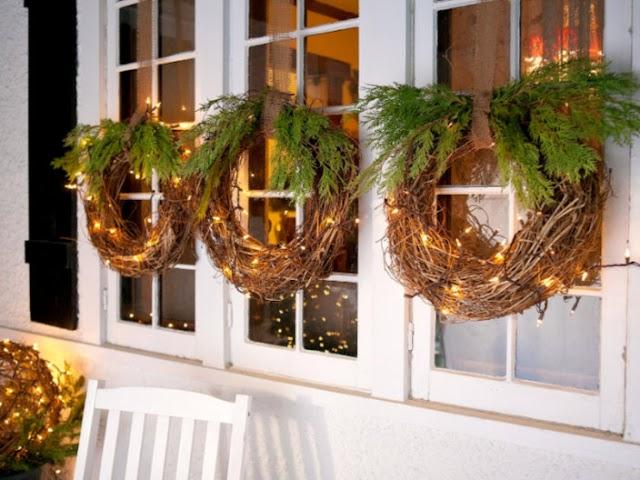 DIY Χριστουγεννιάτικα Στεφάνια από Κληματόβεργες
