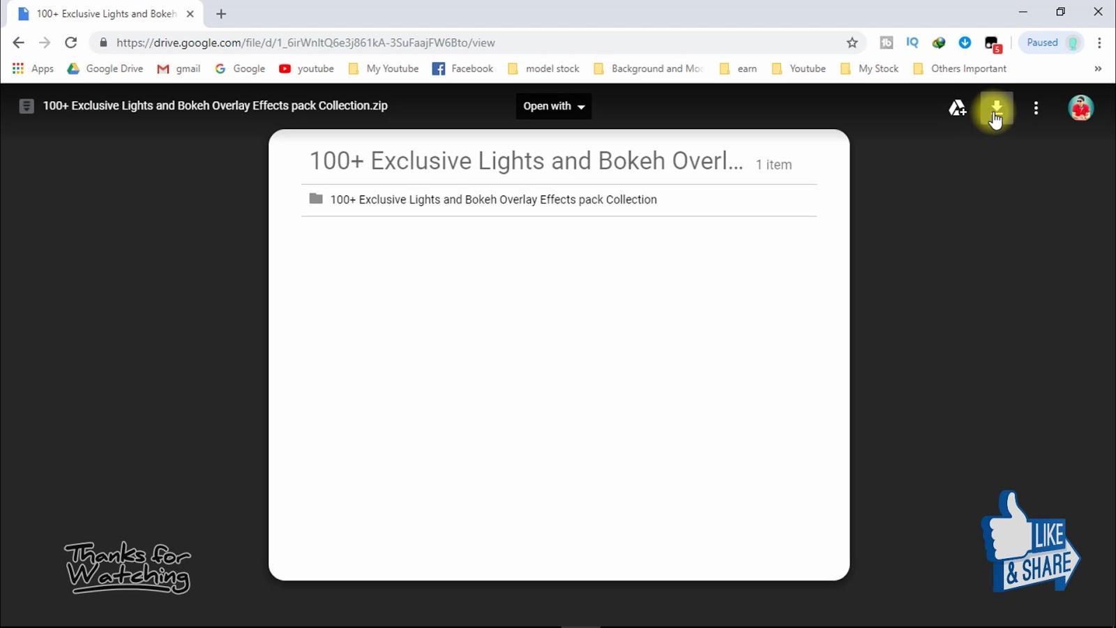 Free Download 100+ Exclusive Professional Lights Pack
