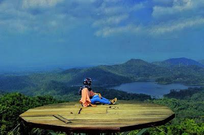 Wisata Alam Pule Payung Kulon Progo, Wisata Pemandangan Alam
