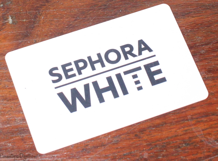 Sephora Italia Card Programme, Samples and GWPs and Experience
