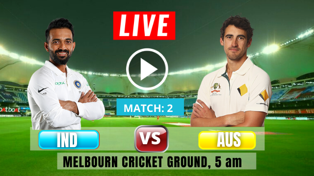 IND vs AUS: 2nd Test match, Day- 2, India tour of Australia 2020-2021, Rahane 12th century helps India to a lead in 1st inning