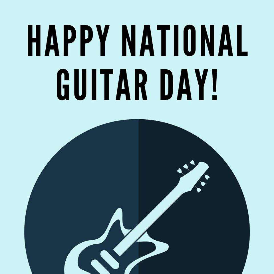 National Guitar Day Wishes Images