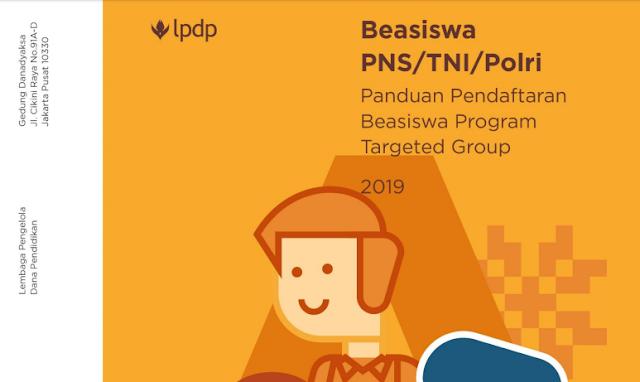 Beasiswa S2 dan S3 PNS,TNI,POLRI Tahun 2019/2020