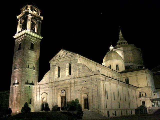 Catedral de Turim na Itália