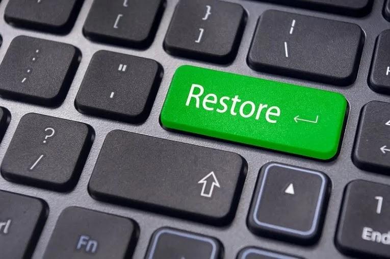 إنشاء نقطة استعادة النظام في نظام التشغيل Windows 10