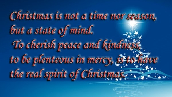 Christmas quotation for family