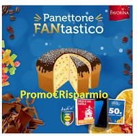 Logo Crea Panettone FANtastico e vinci gratis Smartbox, buoni spesa e Samsung Galaxy S7