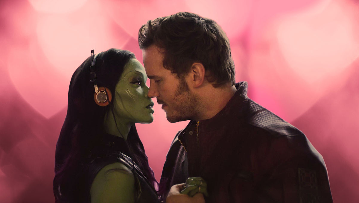 Peter Quill e Gamora