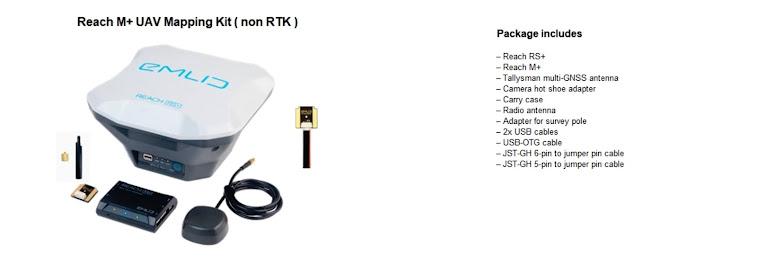 M+ UAV non RTK