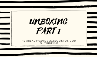[UNBOXING] GIFT FROM BEAUTY BLOGGER/VLOGGER