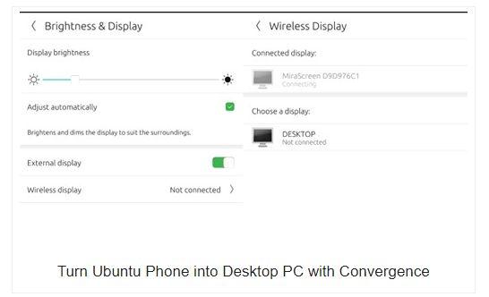 Convergence Turns Your Ubuntu Phone into Desktop PC
