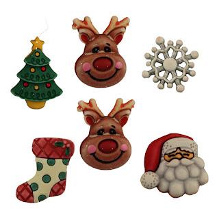Reindeer Games 3D buttons